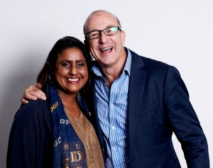 Catherine Sonaram-Taylor and Paul Mckenna